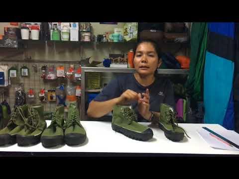รีวิว#รองเท้าเดินป่า #รองเท้าจีนแดง  #ขายของเดินป่า  รองเท้าเดินป่าจีน