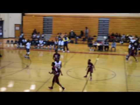 Champion Middle vs Redan Middle Schools Boys at Redan 12-17-16