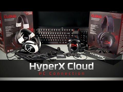Kết nối với máy tính cá nhân | Bộ tai nghe HyperX Cloud