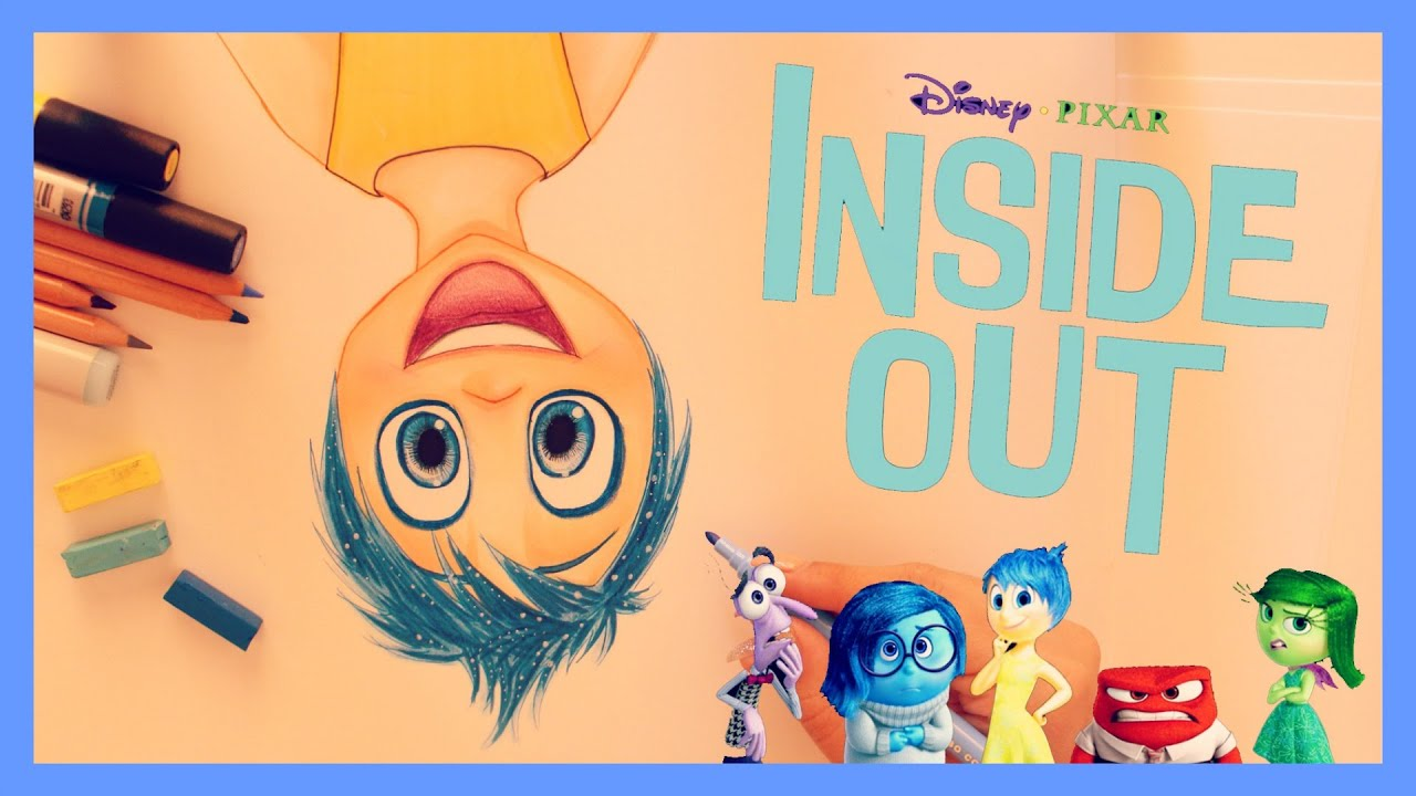 how to draw and color joy from inside out youtube
