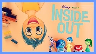 ♡ How to Draw and Color JOY  from INSIDE OUT ♡