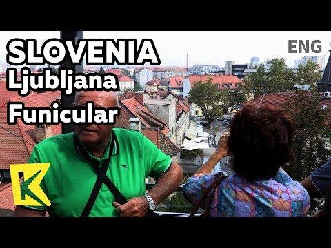 【K】Slovenia Travel-Ljubljana[슬로베니아 여행-류블랴나]푸니쿨라로 보는 도시 풍경/Funicular/Ljubljana Castle/Cable car