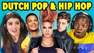 TEENS REACT TO DUTCH POP & HIP HOP SONGS (NEDERPOP, NEDERHOP)