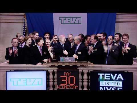 Teva Pharmaceutical Industries, Celebrates Transfer to New York Stock Exchange from NASDAQ