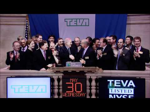 Teva Pharmaceutical Industries, Celebrates Transfer to New York Stock Exchange from NASDAQ