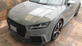 Audi TTRS 2018. El primer TT que disfrutarán los entusiastas