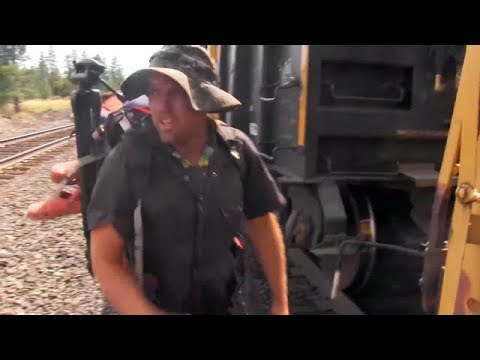 Hobo Stobe: Freight Train Hopping Feature Film 2016 Compilation.
