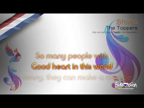 "The Toppers - ""Shine"" (The Netherlands) - [Karaoke version]"