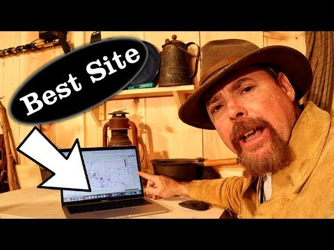 Want to Find Land to Gold Prospect On | Start Looking Here - ask Jeff Williams