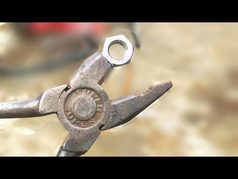 Rusted Plier hack homemade tools