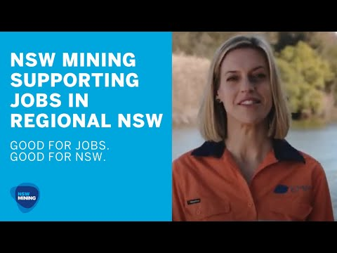 Mining Supporting Jobs In Regional NSW