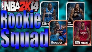 NBA 2K14 My Team, All Rookie Squad, Buzzer Beater?