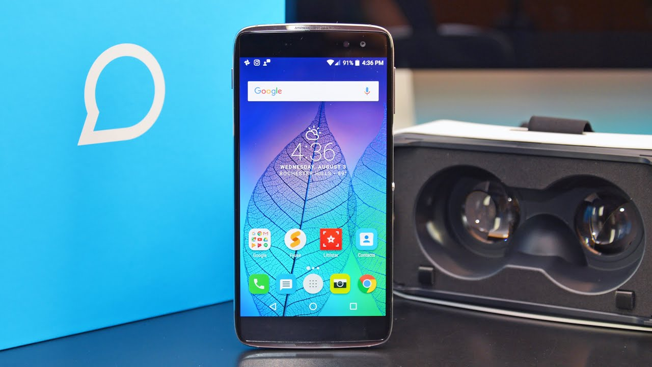 Alcatel Idol 4s - Review!