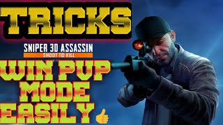 Tricks to Win PvP mode Easily in SNIPER 3D ASSASIN🤑