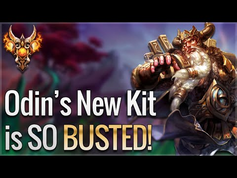 ODIN NEW BEST WARRIOR IN RANKED JOUST?! Ranked Joust- SMITE
