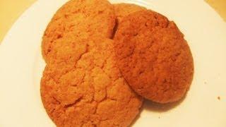 Crispy Coconut Biscuits