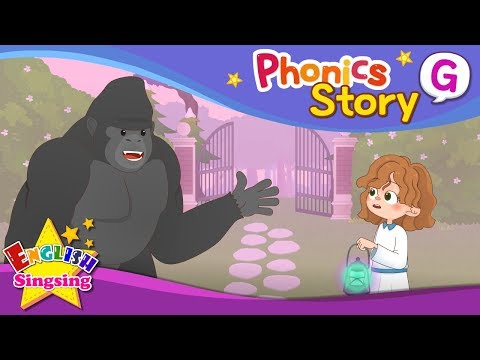 Phonics Story G - English Story - Educational video for Kids