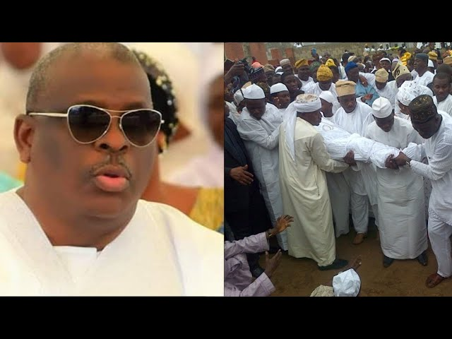 HOLD YOUR TEARS: SENATOR BURUJI KASHAMU'S BODY ARRIVED IN HIS HOME TOWN IJEBU IGBO