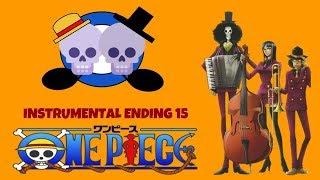 One Piece ending 15 Eternal Pose Instrumental with lyrics