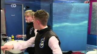 Jedward - Shaving - Celebrity Big Brother Day 20