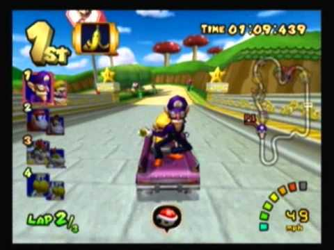 mario kart double dash flower cup mario circuit 100cc 2 4 youtube. Black Bedroom Furniture Sets. Home Design Ideas