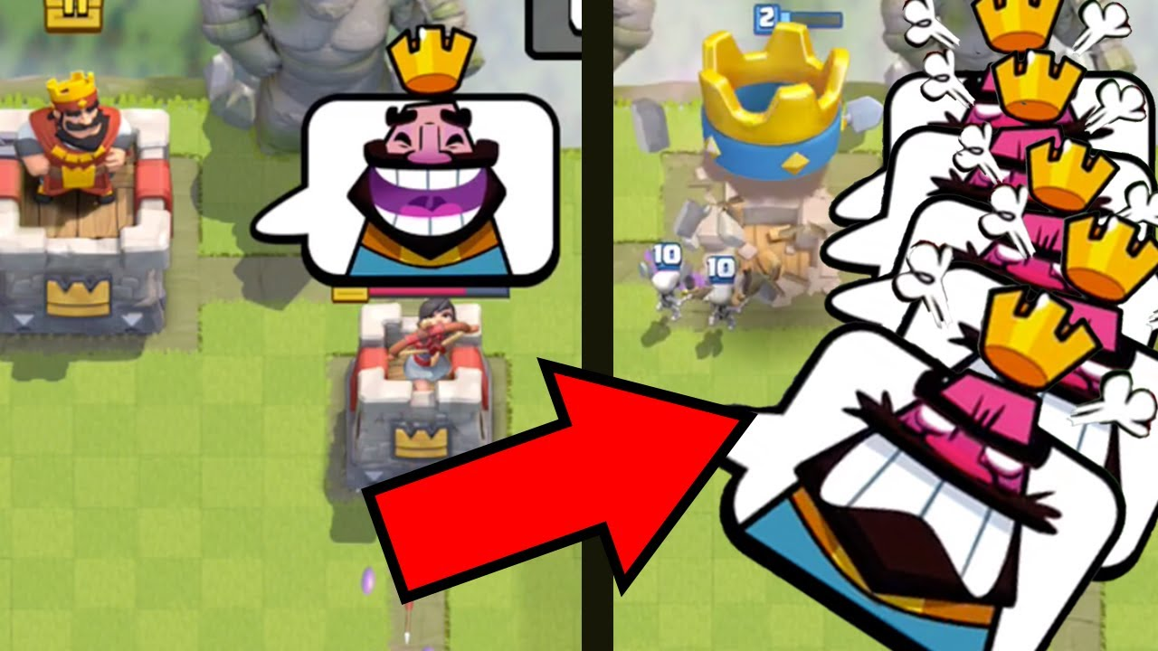 Funny Moments in Clash Royale the ULTIMATE Bad Manner