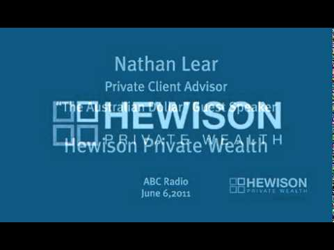 Nathan Lear - Hewison Private Wealth - Radio Interview