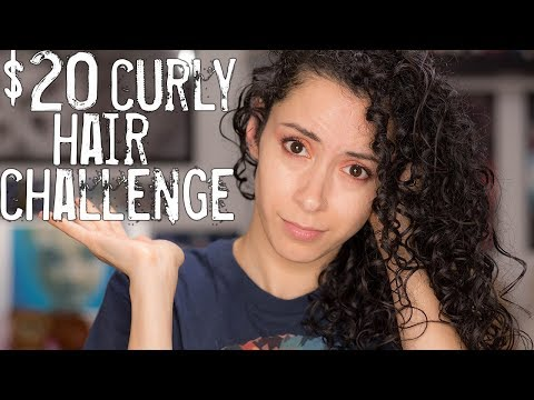 $20 Curly Hair Routine Challenge