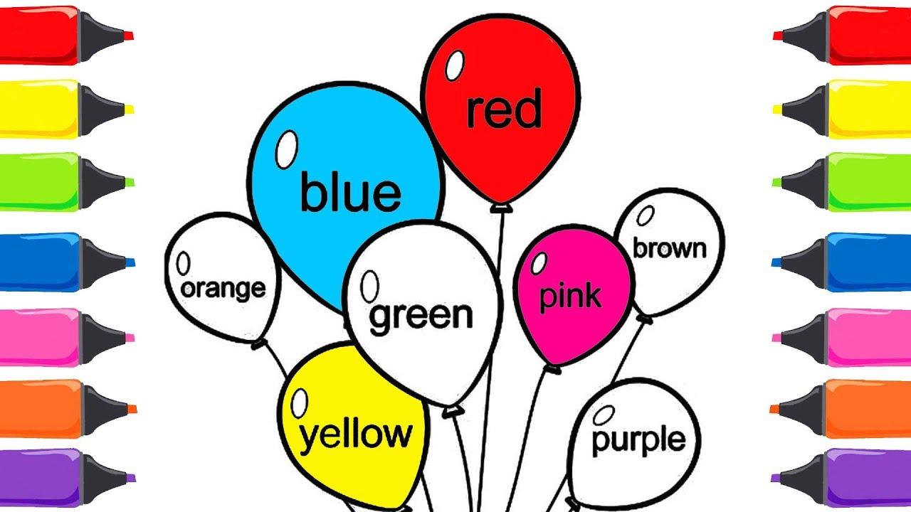 Renkleri öğreniyorum Ingilizce Renkleri öğreniyorum Renkler