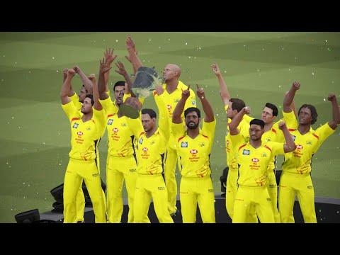 2011 IPL Final Chennai Super Kings vs Royal Challangers Banglore Highlights    Ashes Cricket 17