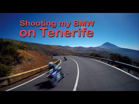 Shooting my BMW K1200r Sport on Tenerife - Full HD - 1080p