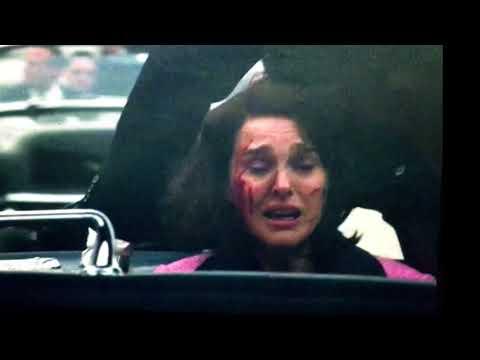 Jackie Movie Depiction of JFK Shooting