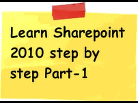 Tutorial 1 :- What Is Sharepoint 2010 , Sharepoint Foundation 2010 And Sharepoint Server 2010 ?