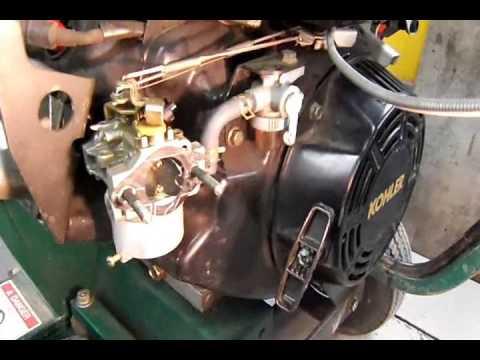 Kohler Engine Choke Repair - YouTube