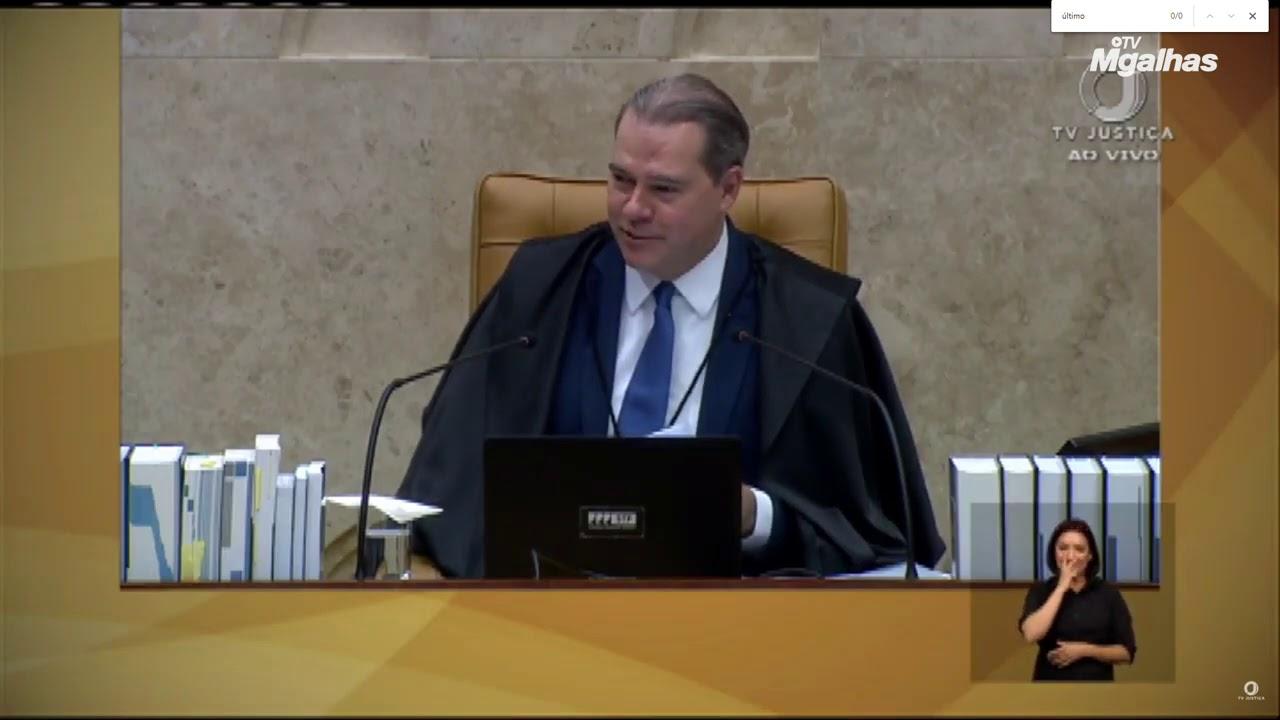 Confira o discurso de Dias Toffoli na última sessão de julgamentos na presidência