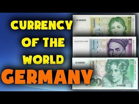 Currency of Germany.PRE-EURO.Deutsche Mark.German currency