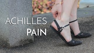 Achilles Tendinitis can be debilitating and cause people to be unable to participate in the activiti.