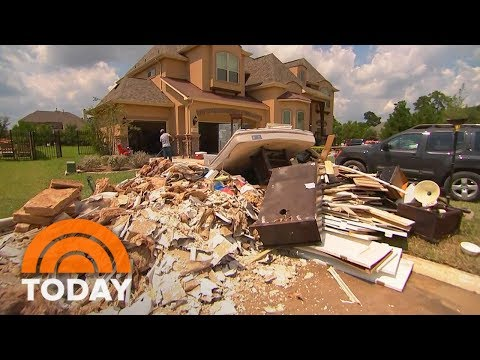 As Texas Floodwaters Recede In Some Area, Destruction Revealed | TODAY