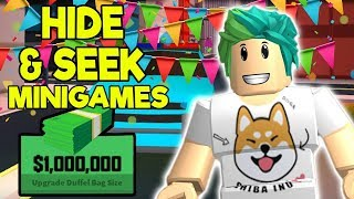 ROBLOX JAILBREAK *1 YEAR UPDATE* SIMON SAYS & HIDE AND SEEK $$$10,000 GIVE AWAY | Roblox Live Stream