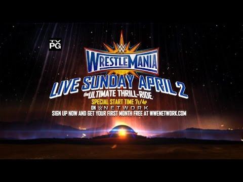 Don't miss WrestleMania 33 - Live Sunday, April 2