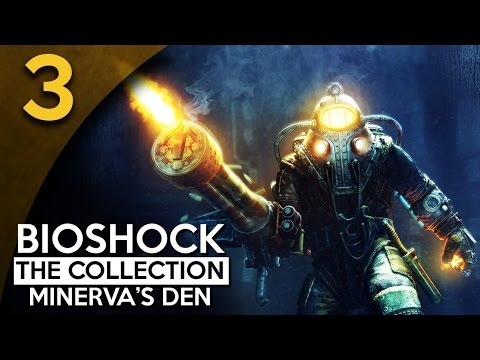 Let's Play BioShock 2 Minerva's Den Remastered Part 3 - Robotic [BioShock Collection Blind Gameplay]