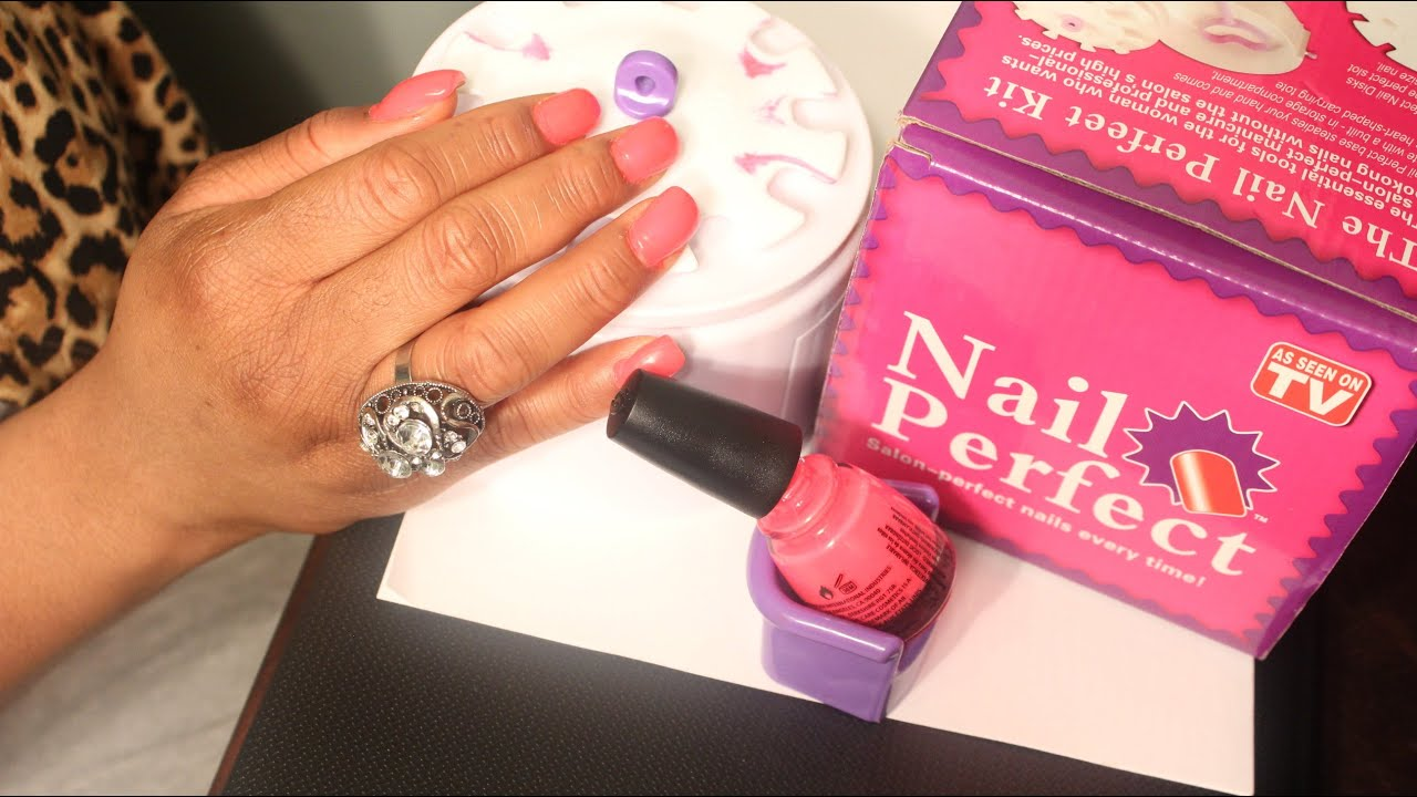 Nail Perfect Kit - YouTube