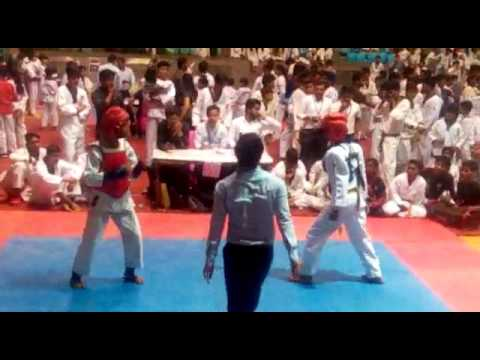 Chandan Singh fight Taekwondo Shiva clab