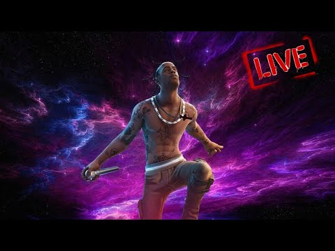 Fortnite Travis Scott *LIVE* Event Full HD! (FREE ASTROWORLD CONCERT) *NO COMMENTARY*