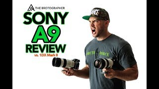 Sony A9 Review and Initial Impressions (Compared to Canon 1DX Mark II) [4K]
