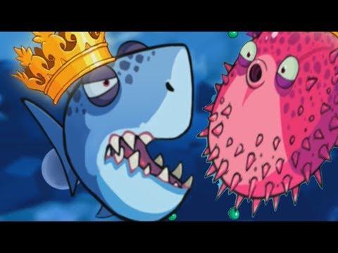 Хищные рыбки поедают друг друга EATME.IO