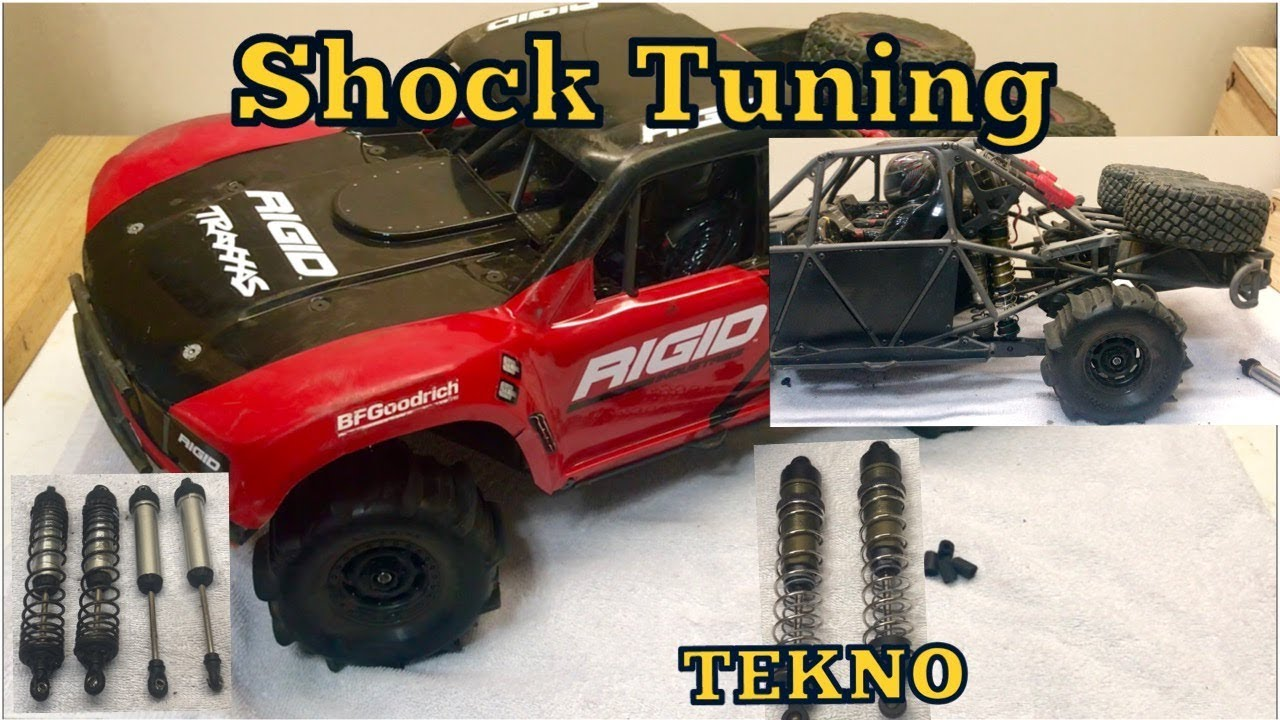 Traxxas UDR Suspension mods