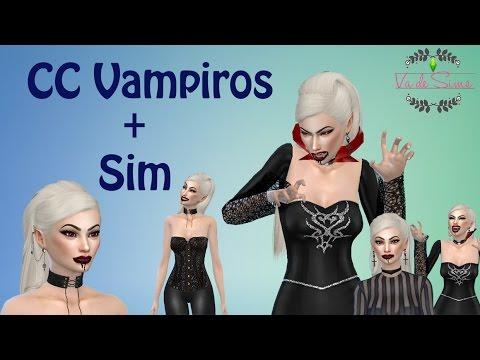 los sims 4 vampiros   ¡contenido personalizado de vampiros+link de