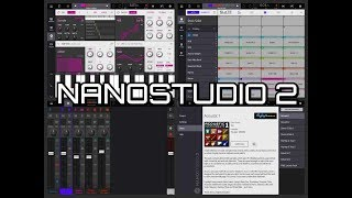 nANOSTUDIO 2 - Setting Up & Quick Start Guide for the iPad