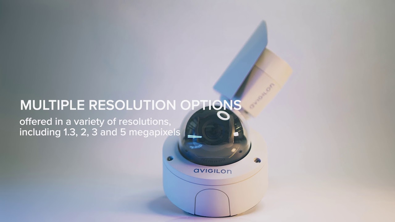 Avigilon combines Value and Versatility with the new H5SL Camera Line.